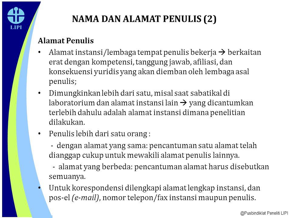 NAMA DAN ALAMAT PENULIS (2)