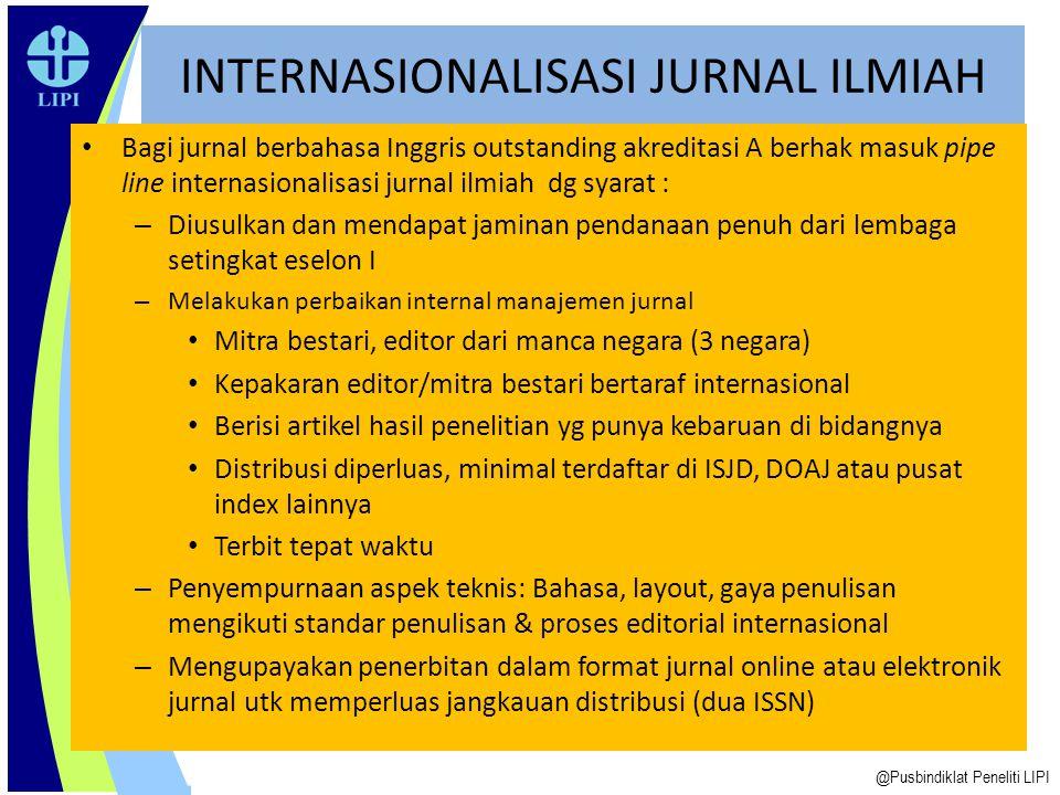 INTERNASIONALISASI JURNAL ILMIAH