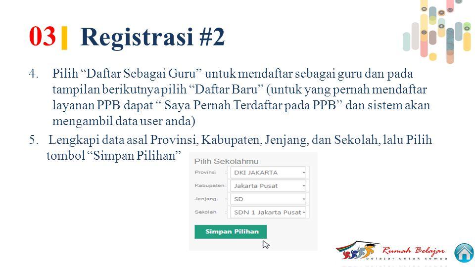 03| Registrasi #2