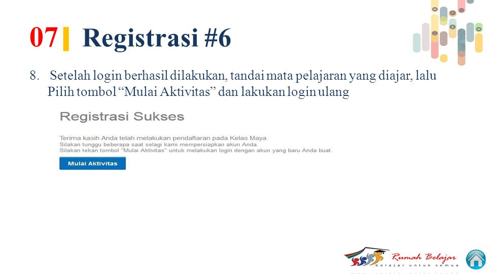 07| Registrasi #6