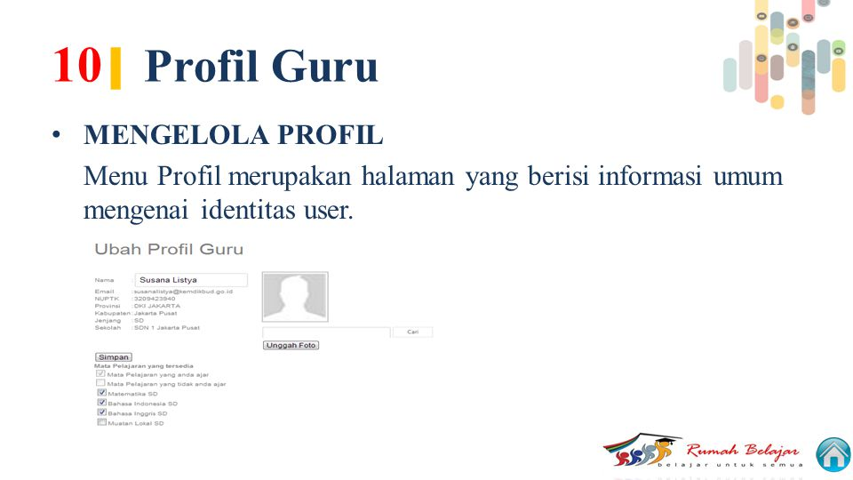 10| Profil Guru MENGELOLA PROFIL