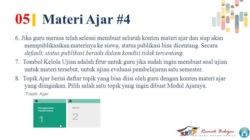 05| Materi Ajar #4
