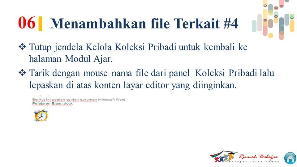 06| Menambahkan file Terkait #4