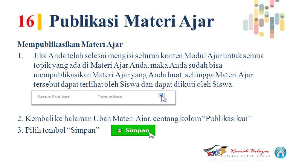 16| Publikasi Materi Ajar