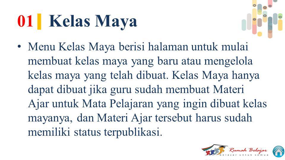 01| Kelas Maya