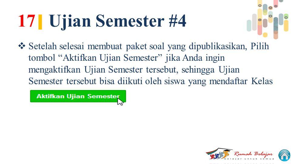 17| Ujian Semester #4