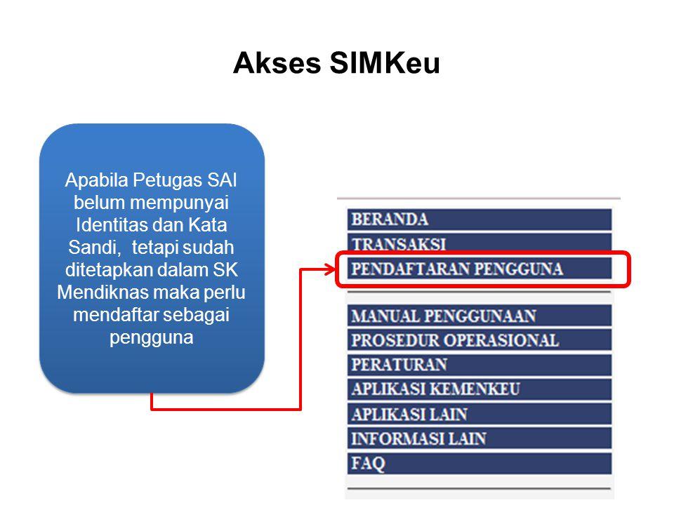 Akses SIMKeu