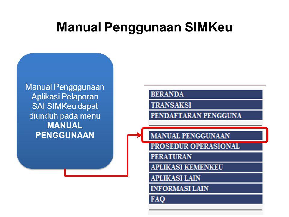 Manual Penggunaan SIMKeu