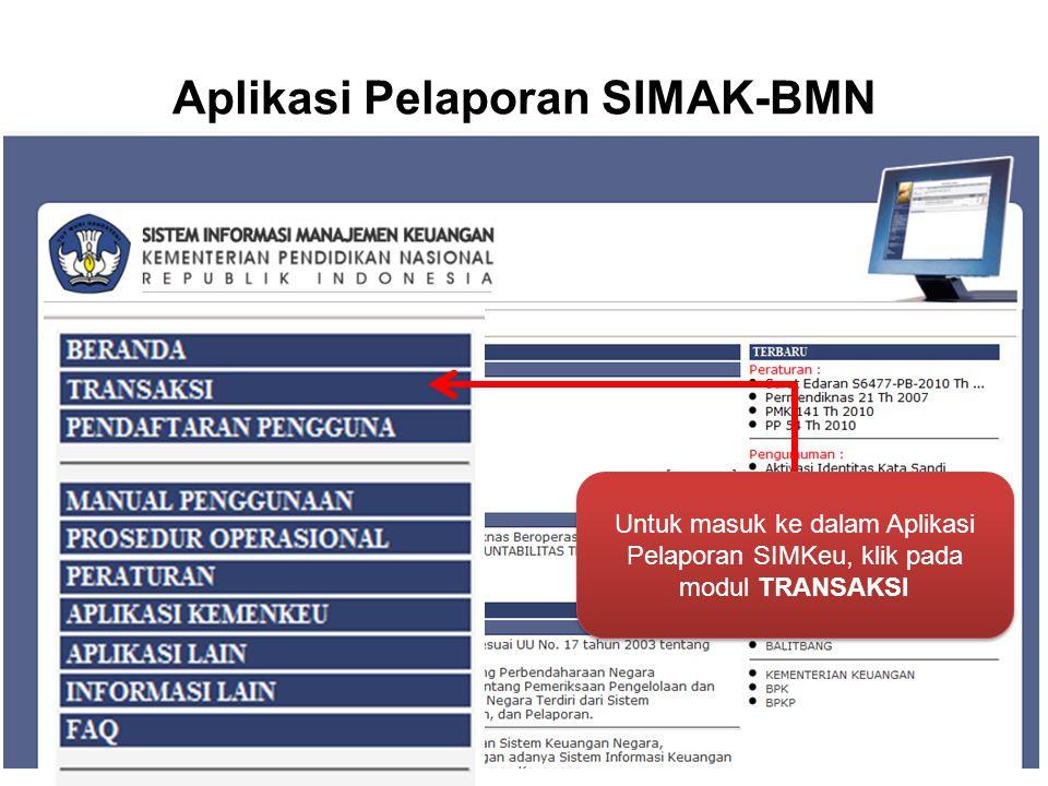 Aplikasi Pelaporan SIMAK-BMN