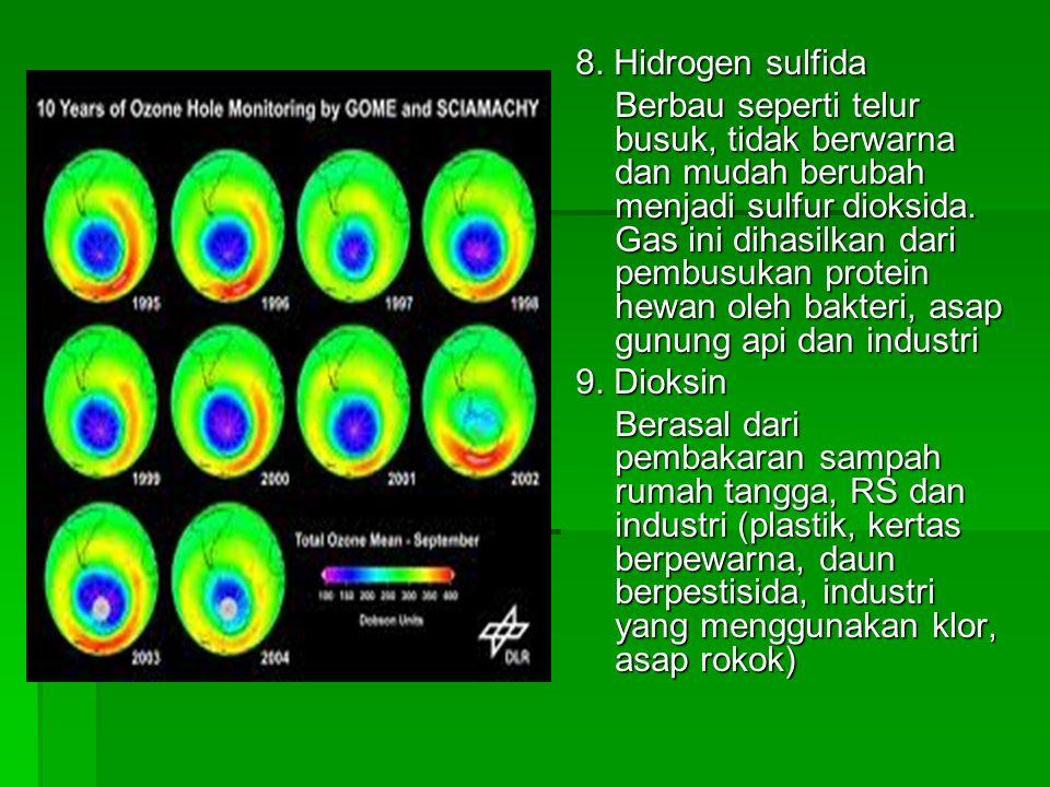 8. Hidrogen sulfida
