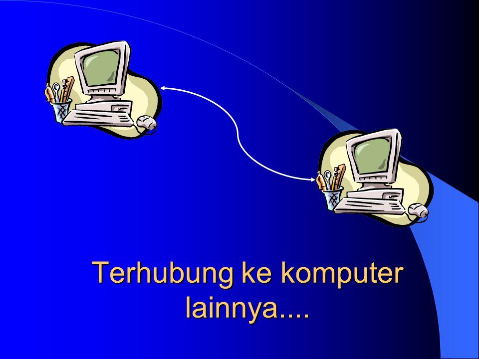 Terhubung ke komputer lainnya....