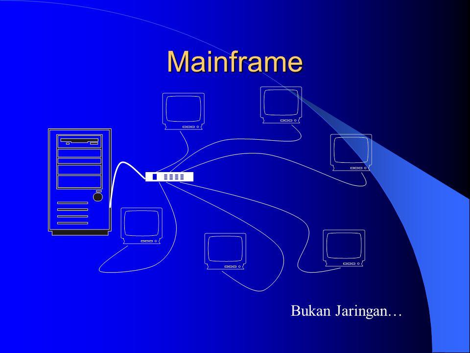 Mainframe Bukan Jaringan…