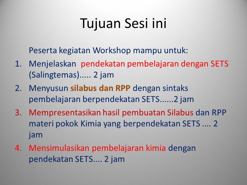 Tujuan Sesi ini Peserta kegiatan Workshop mampu untuk:
