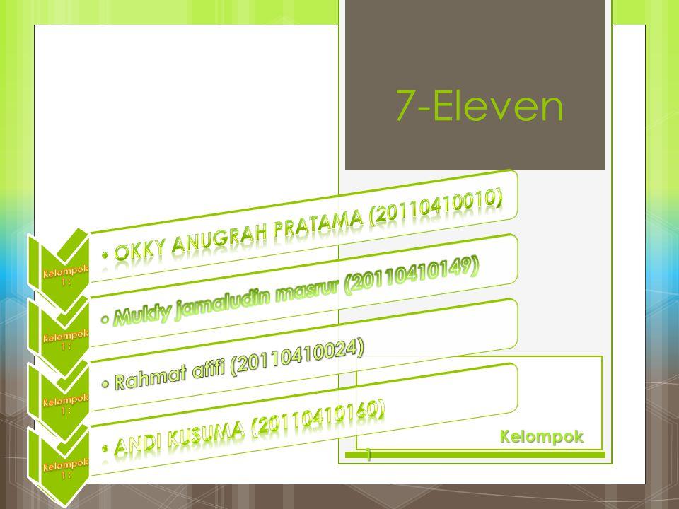 7-Eleven Okky Anugrah Pratama (20110410010)