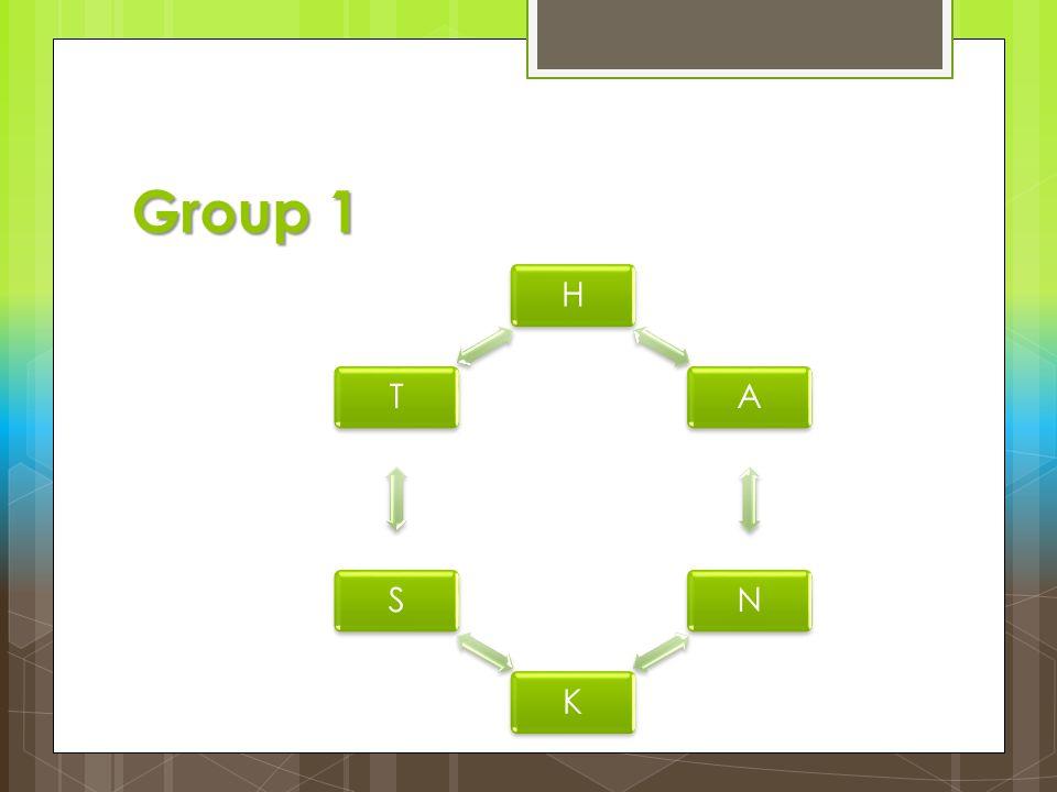 Group 1 H A N K S T