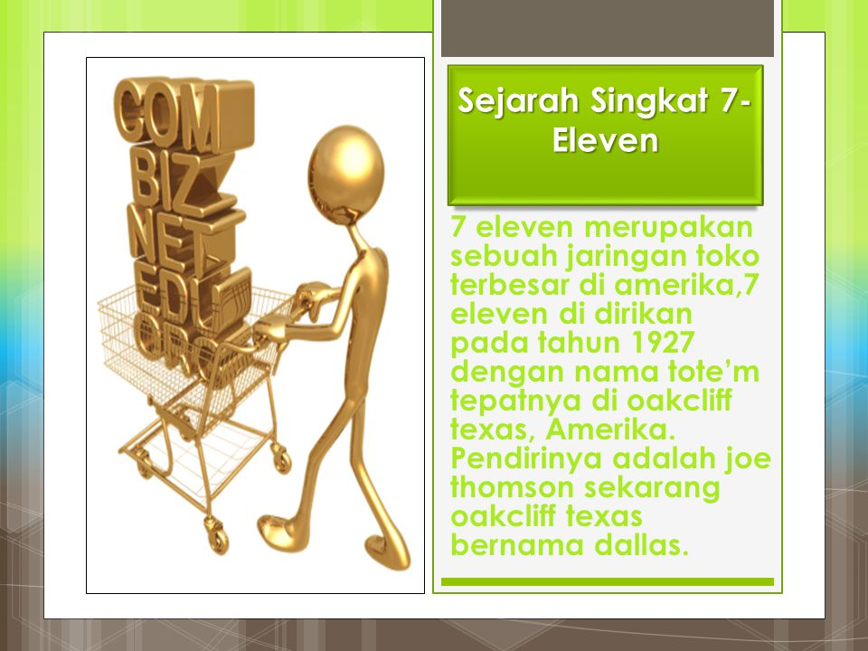 Sejarah Singkat 7-Eleven