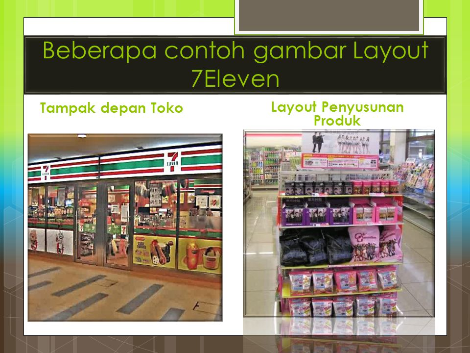 Beberapa contoh gambar Layout 7Eleven