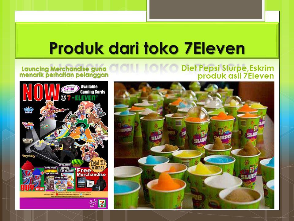 Produk dari toko 7Eleven