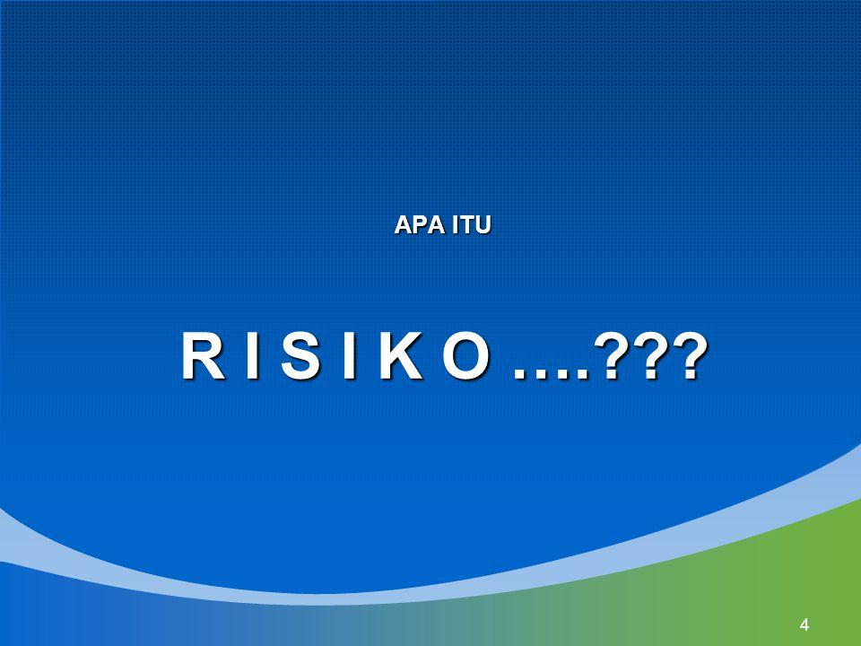 APA ITU R I S I K O ….