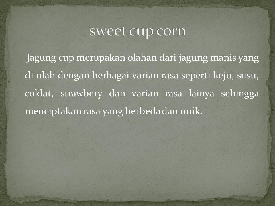 sweet cup corn