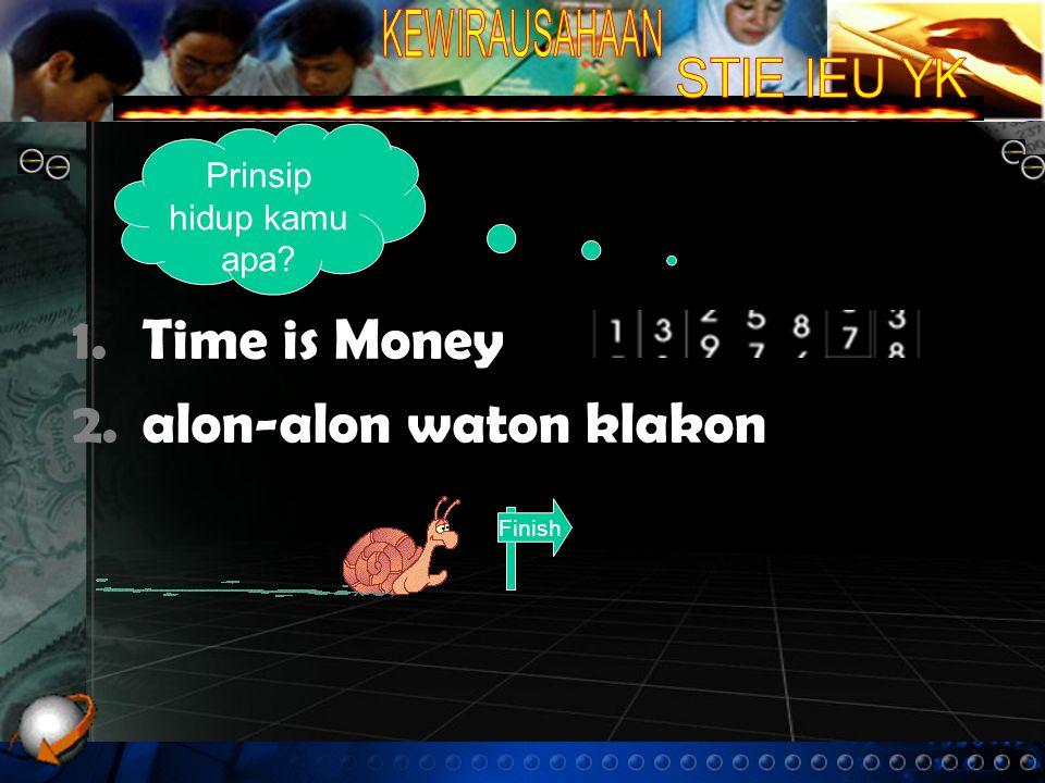 alon-alon waton klakon