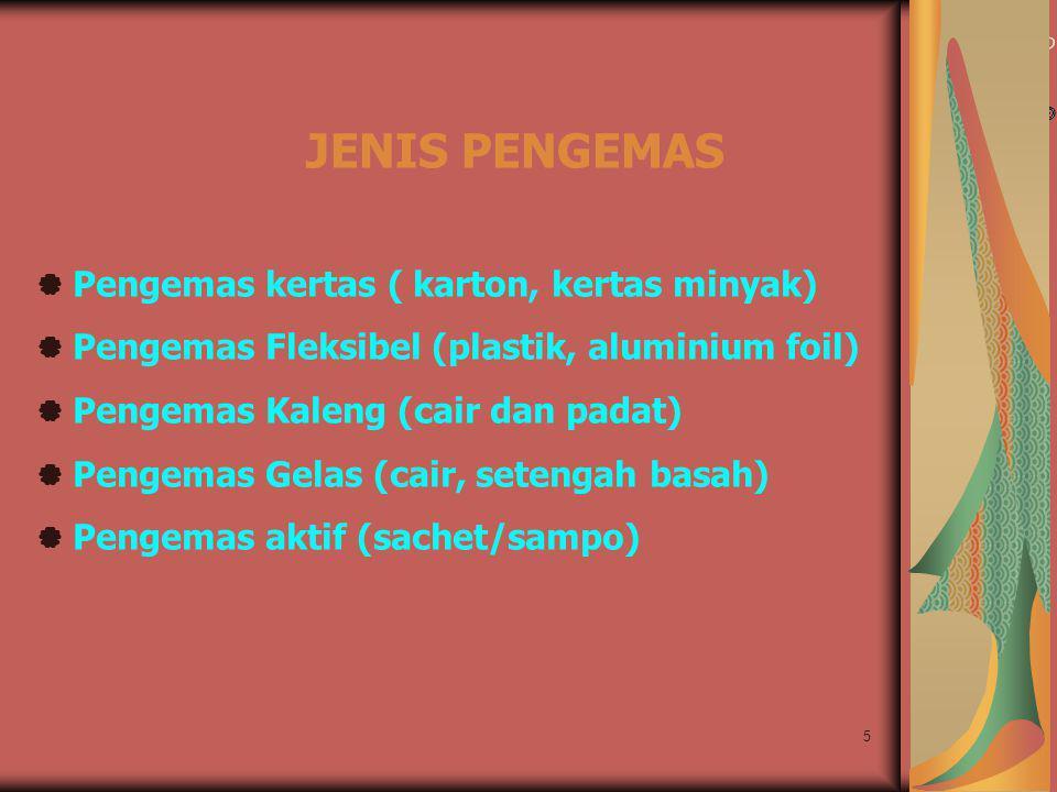JENIS PENGEMAS  Pengemas kertas ( karton, kertas minyak)