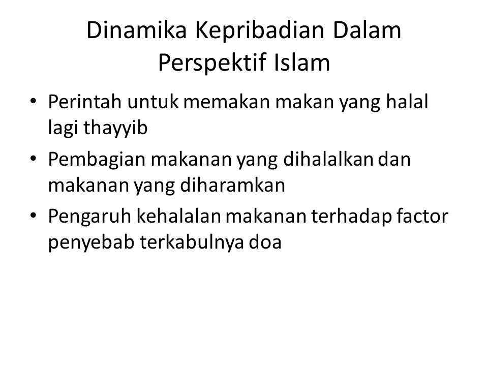 Dinamika Kepribadian Dalam Perspektif Islam