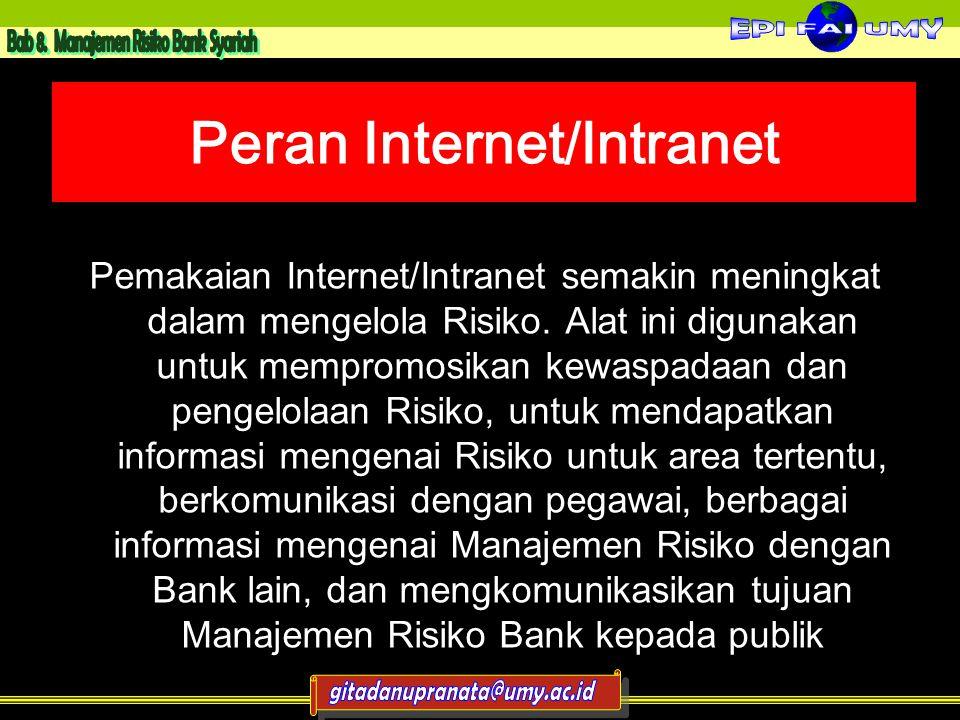 Peran Internet/Intranet