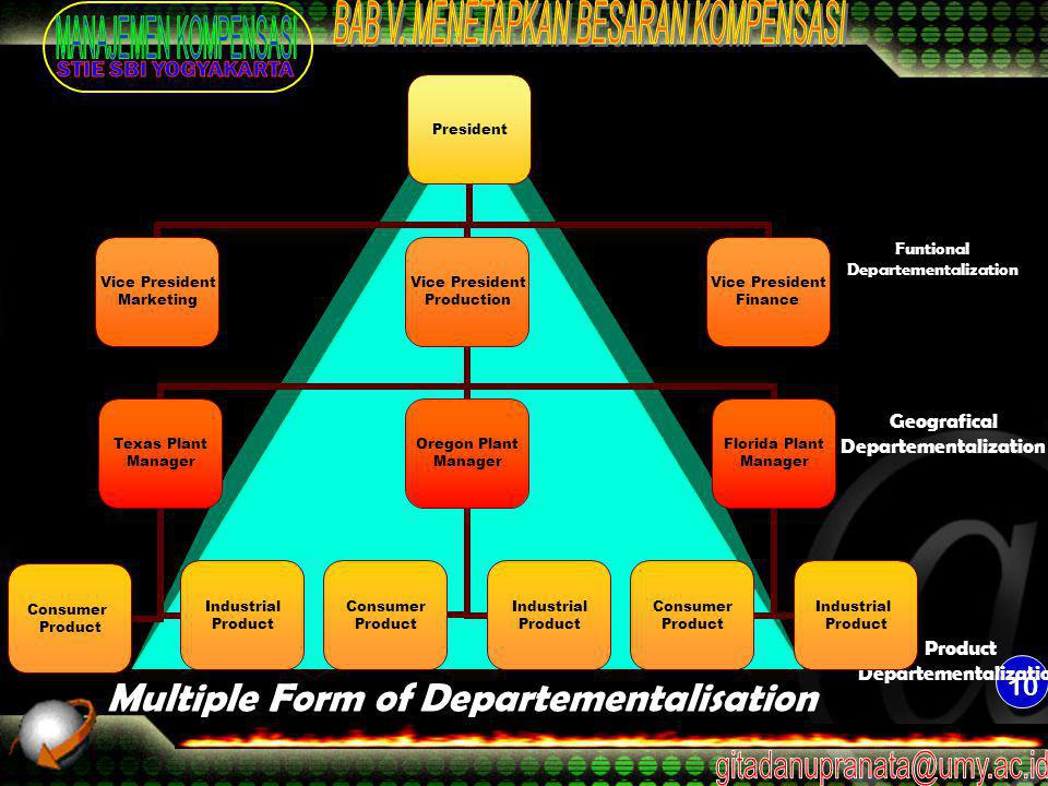 Funtional Departementalization
