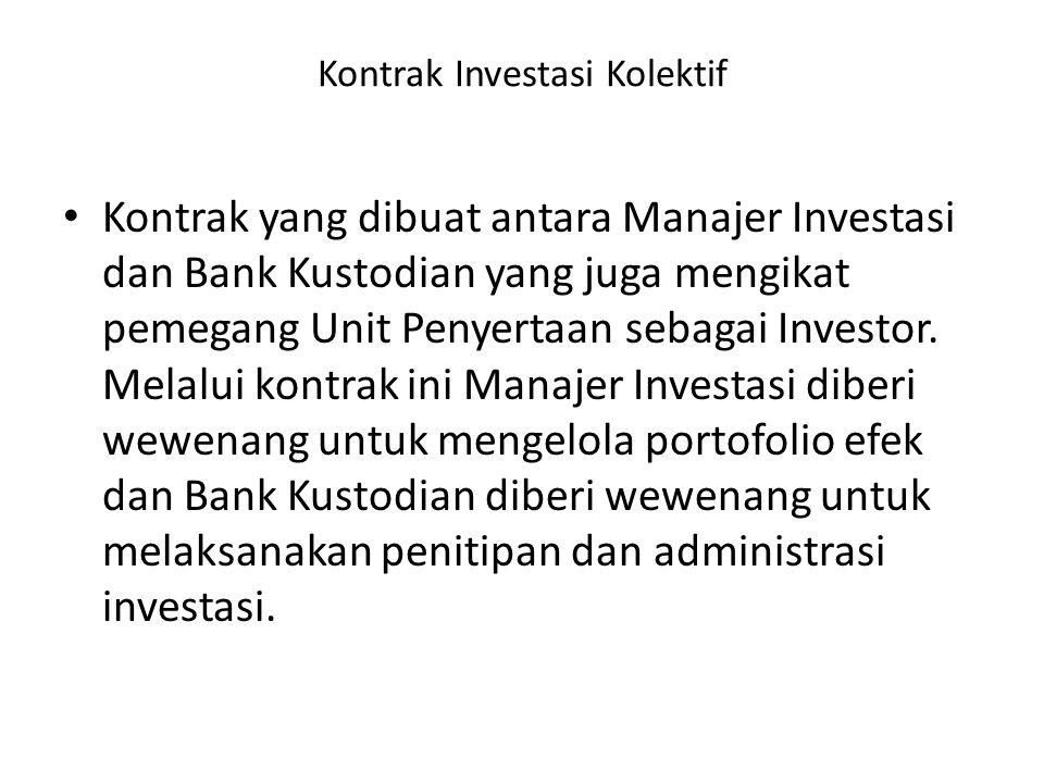 Kontrak Investasi Kolektif