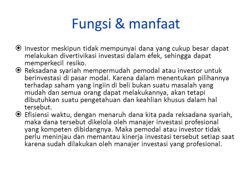 Fungsi & manfaat