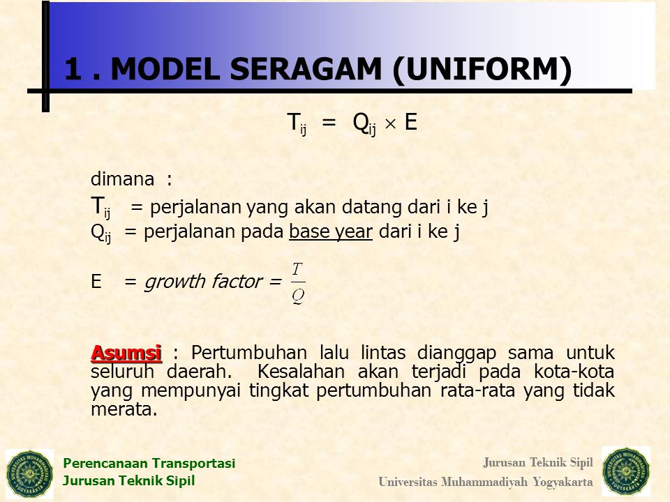 1 . MODEL SERAGAM (UNIFORM)