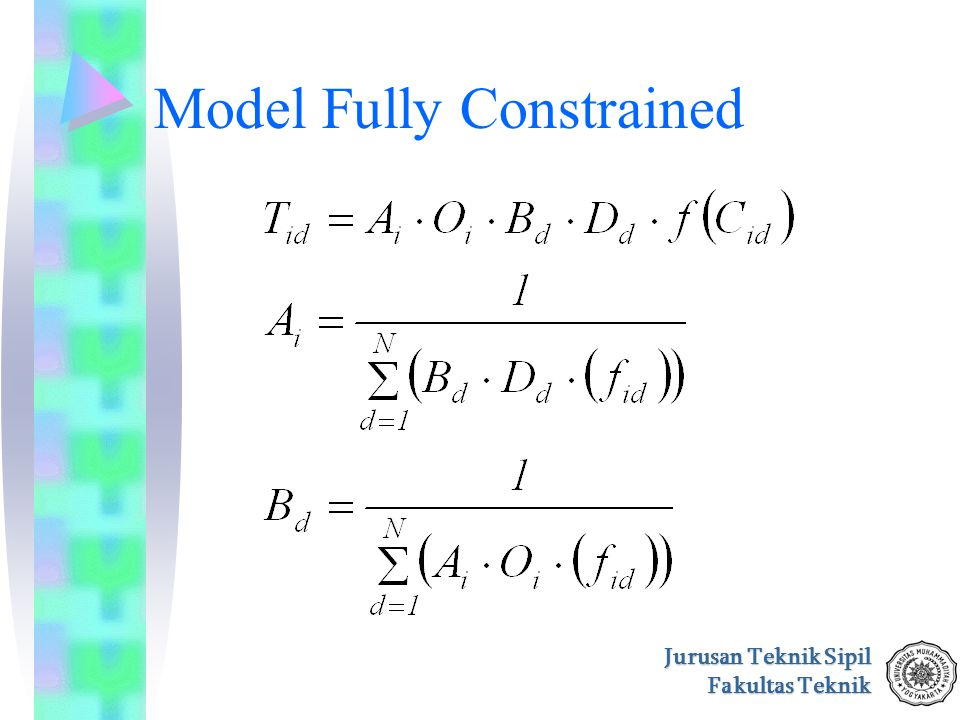 Model Fully Constrained