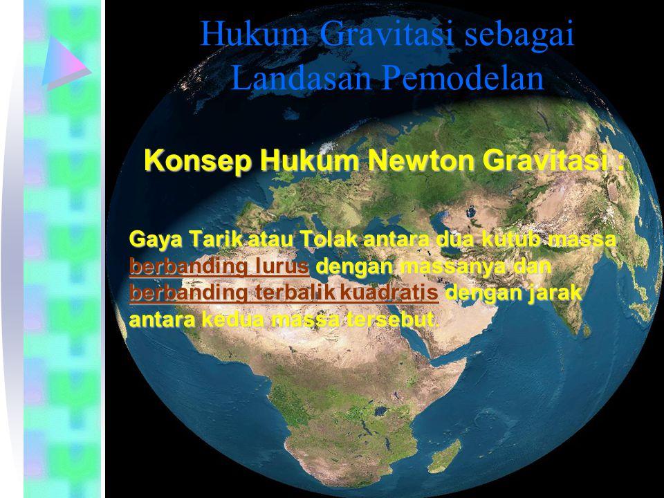 Hukum Gravitasi sebagai Landasan Pemodelan