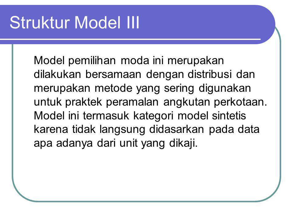 Struktur Model III