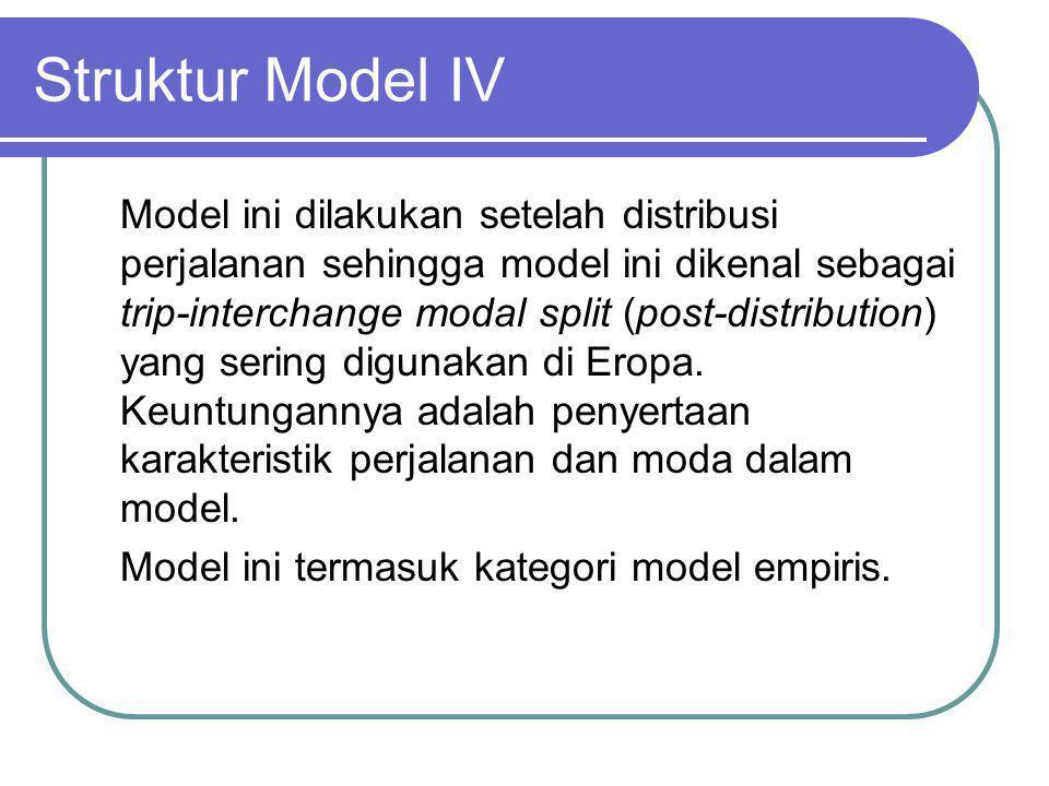 Struktur Model IV