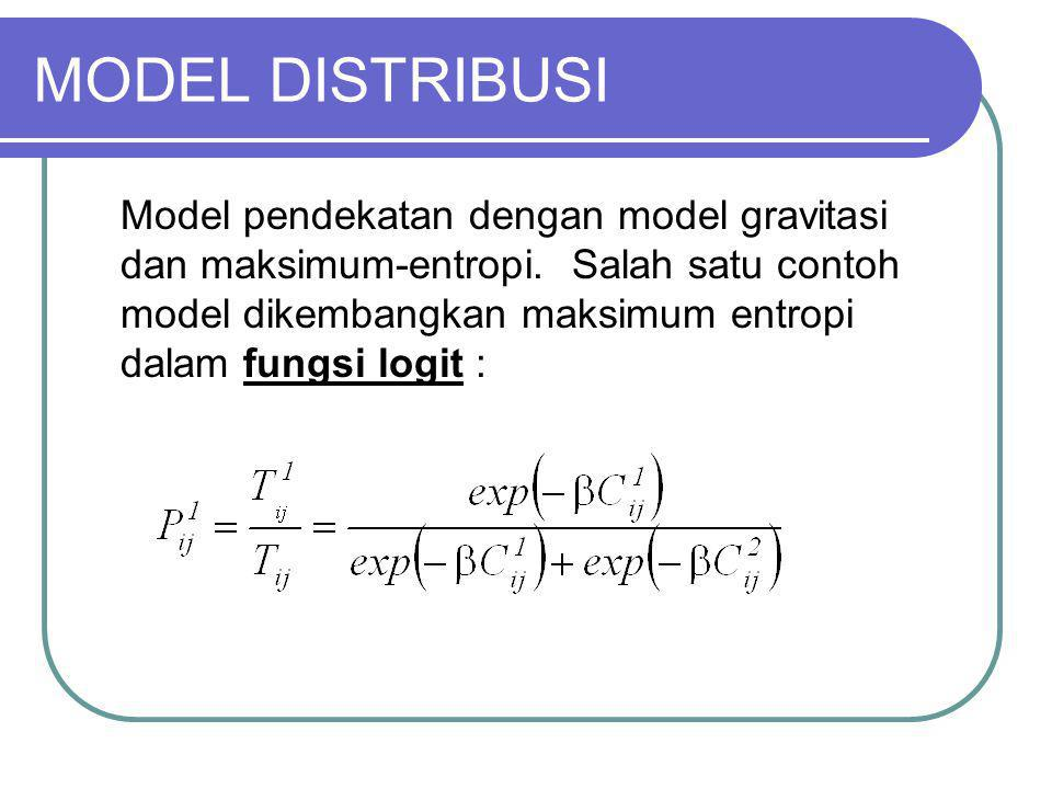 MODEL DISTRIBUSI