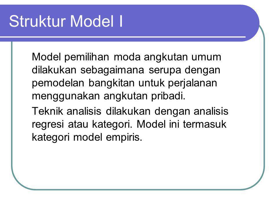 Struktur Model I