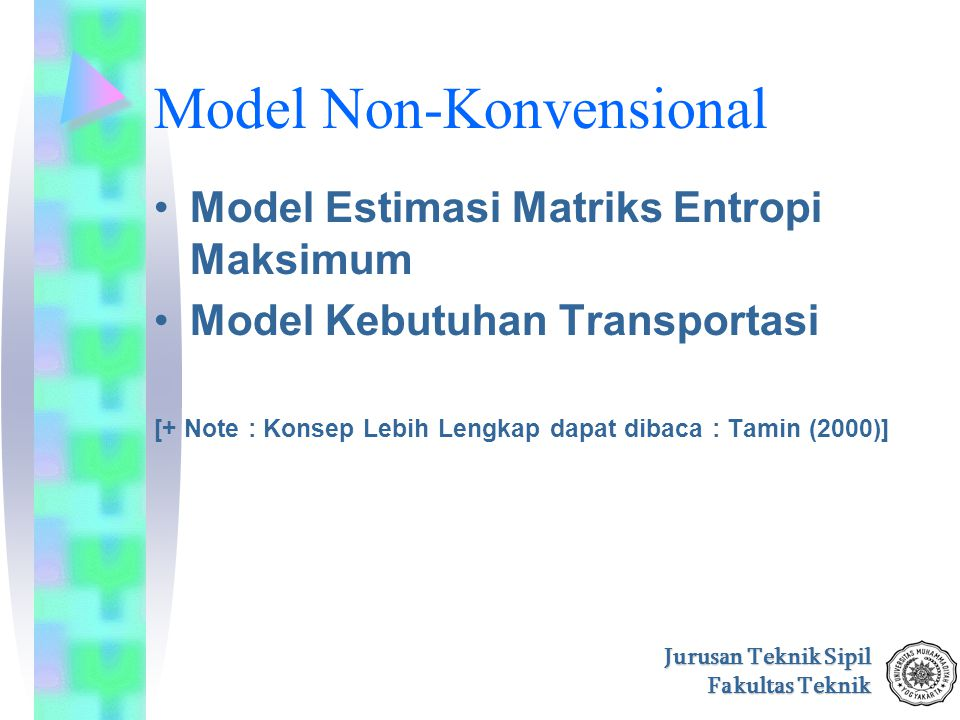 Model Non-Konvensional