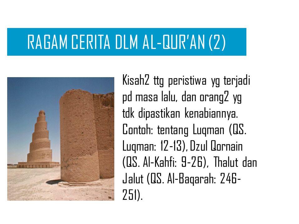 RAGAM CERITA DLM AL-QUR'AN (2)