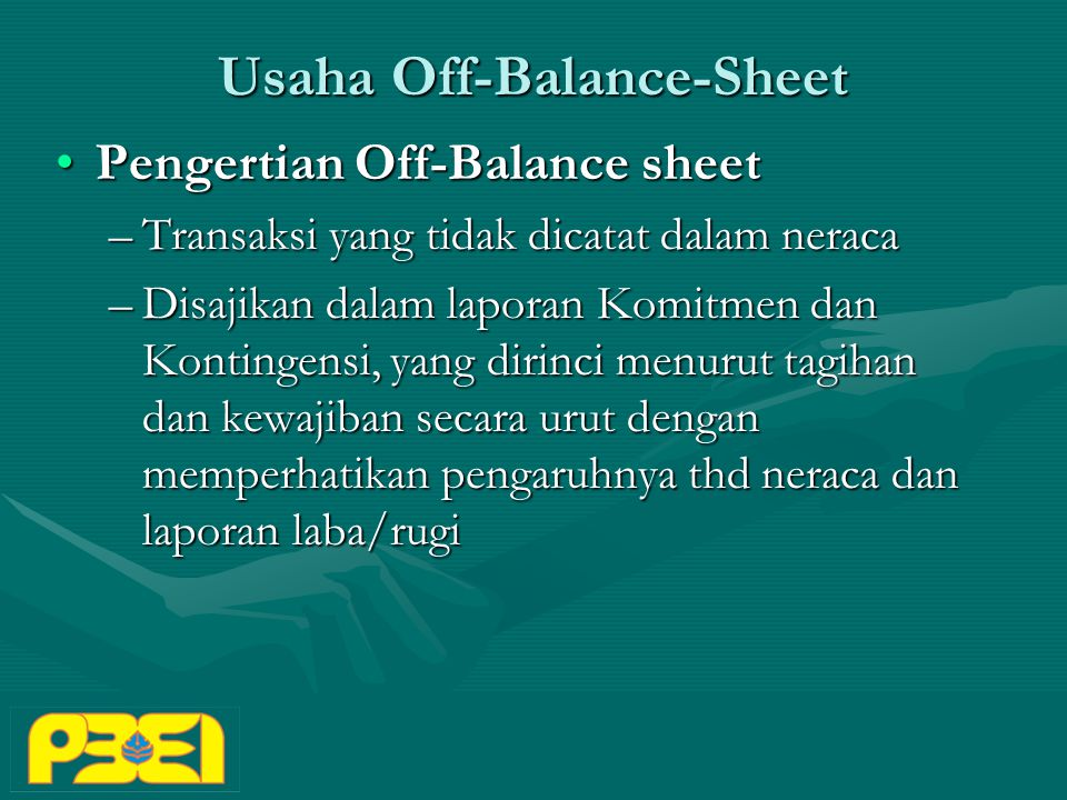 Usaha Off-Balance-Sheet