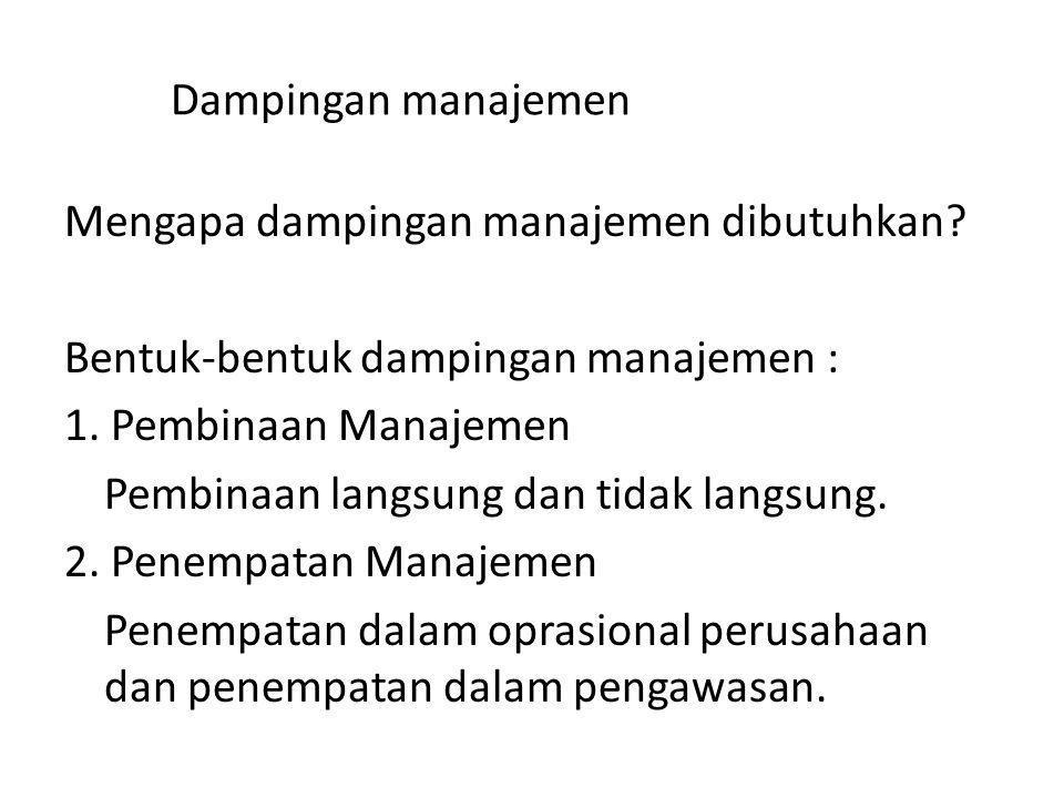 Dampingan manajemen