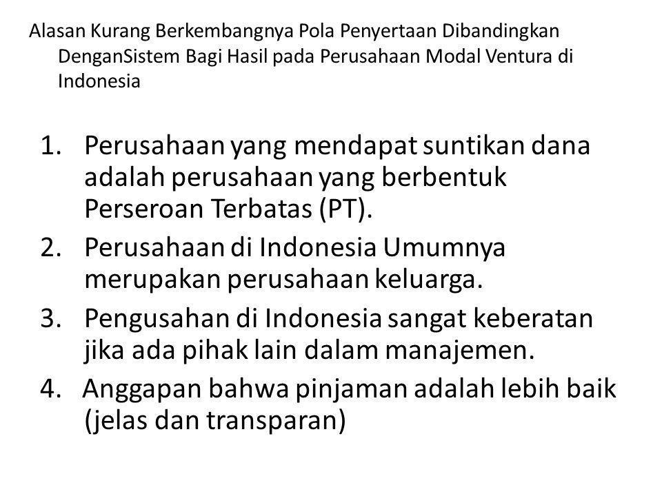 Perusahaan di Indonesia Umumnya merupakan perusahaan keluarga.