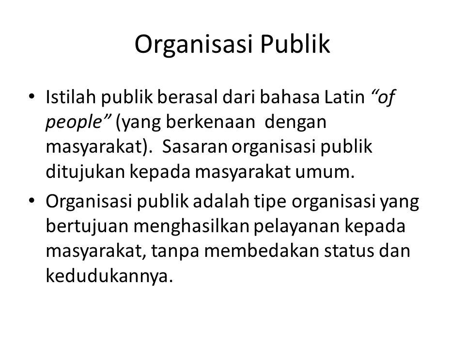 Organisasi Publik