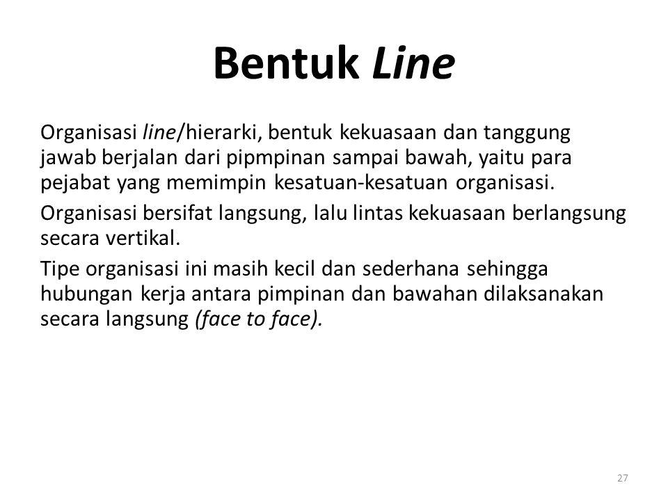 Bentuk Line