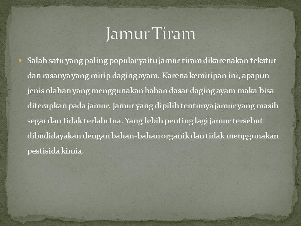 Jamur Tiram