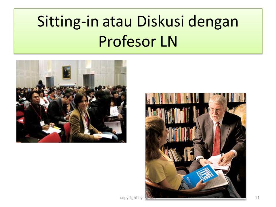 Sitting-in atau Diskusi dengan Profesor LN
