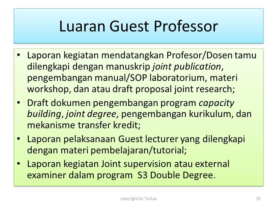 Luaran Guest Professor