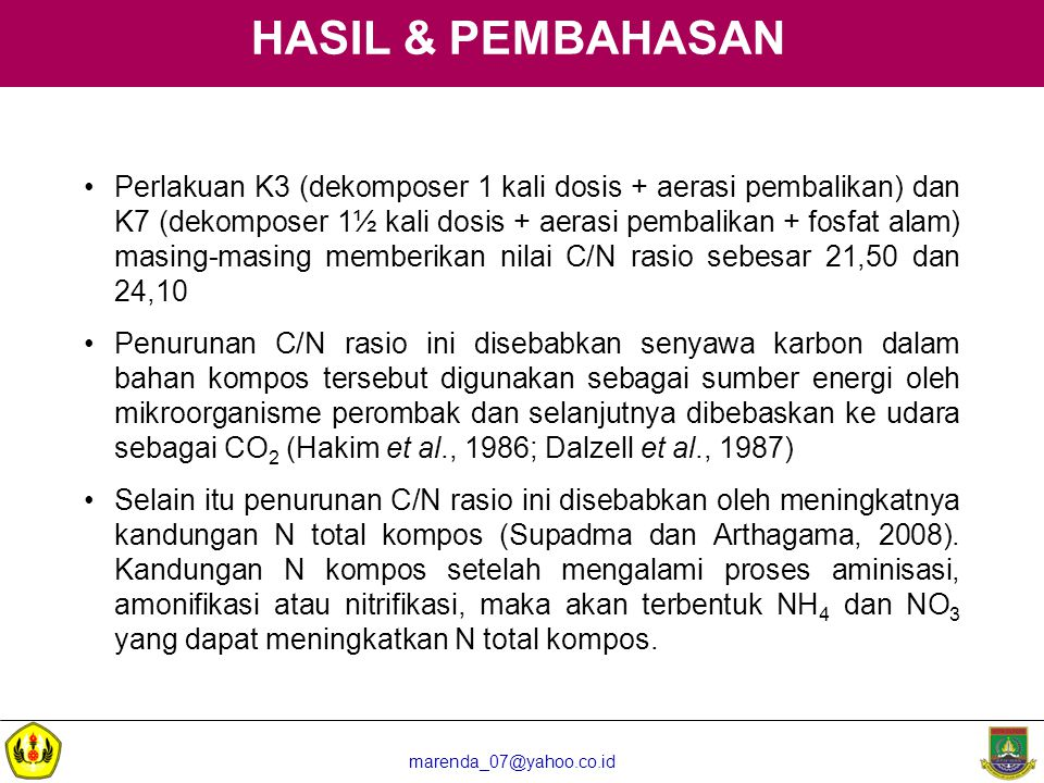 HASIL & PEMBAHASAN