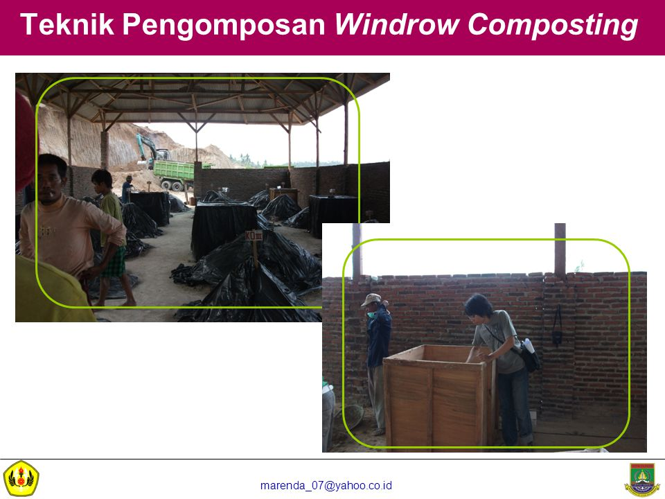 Teknik Pengomposan Windrow Composting
